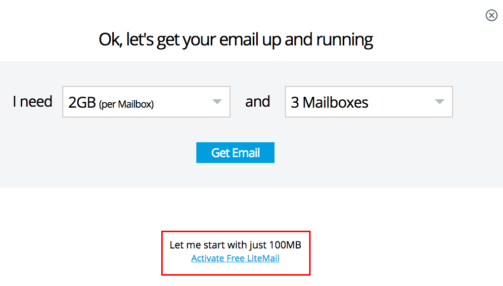 how to create an email with your domain