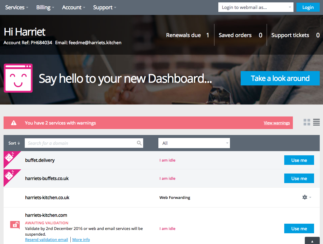 Say Hello to your new Dashboard