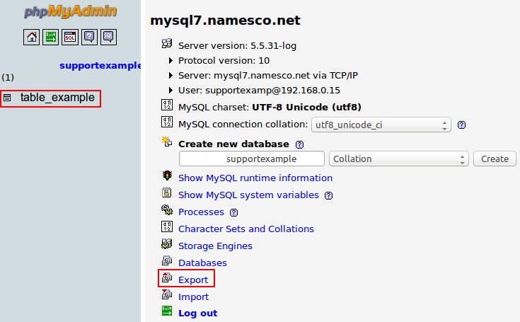 How to access / backup a MySQL database