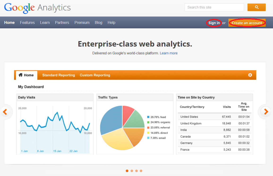how to create an event in google analytics