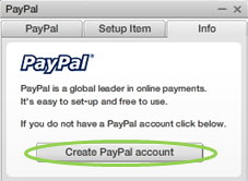 SM PayPal Create