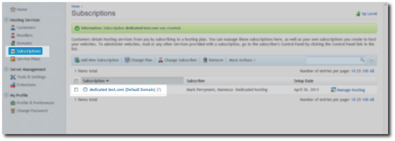 Domain Select