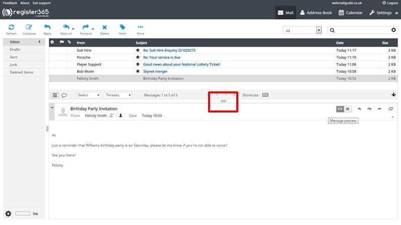 Webmail - The Basics