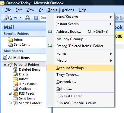 Outlook 2007 Tools