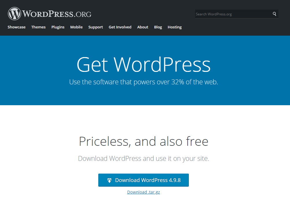 download from wordpress.org