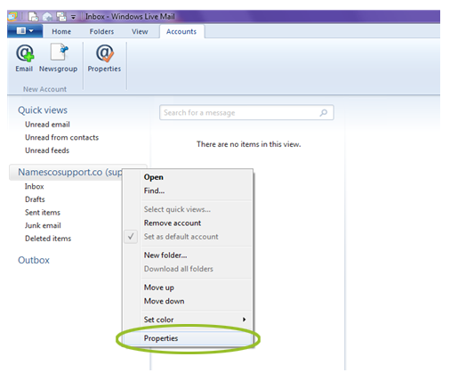 How to set up a POP3 account in Windows Mail 2011