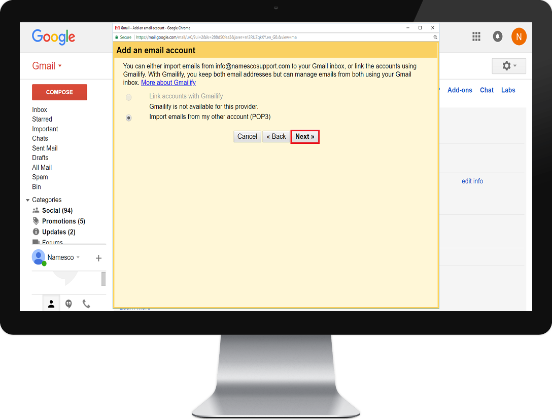 gmail step 4