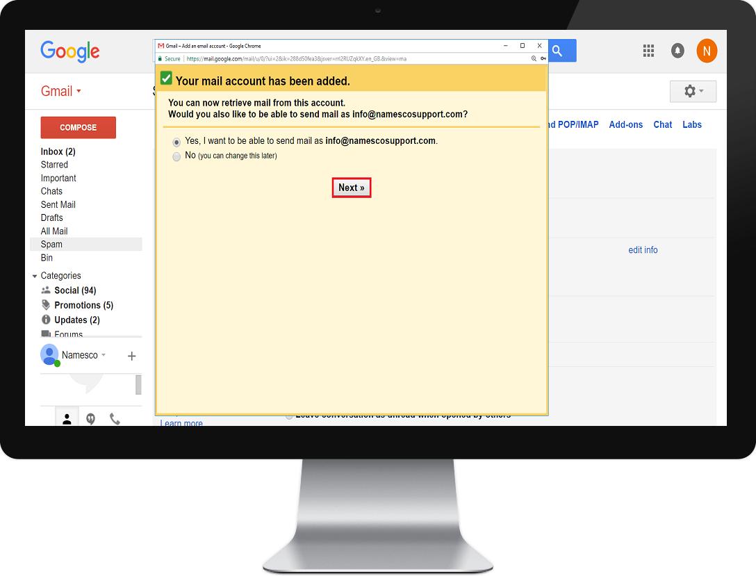 gmail step 6