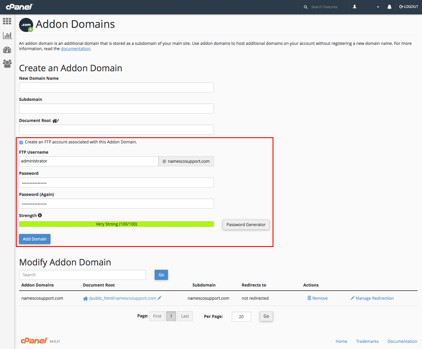 how to add domain in hostgator cpanel
