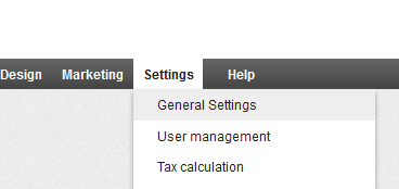 generalsettings